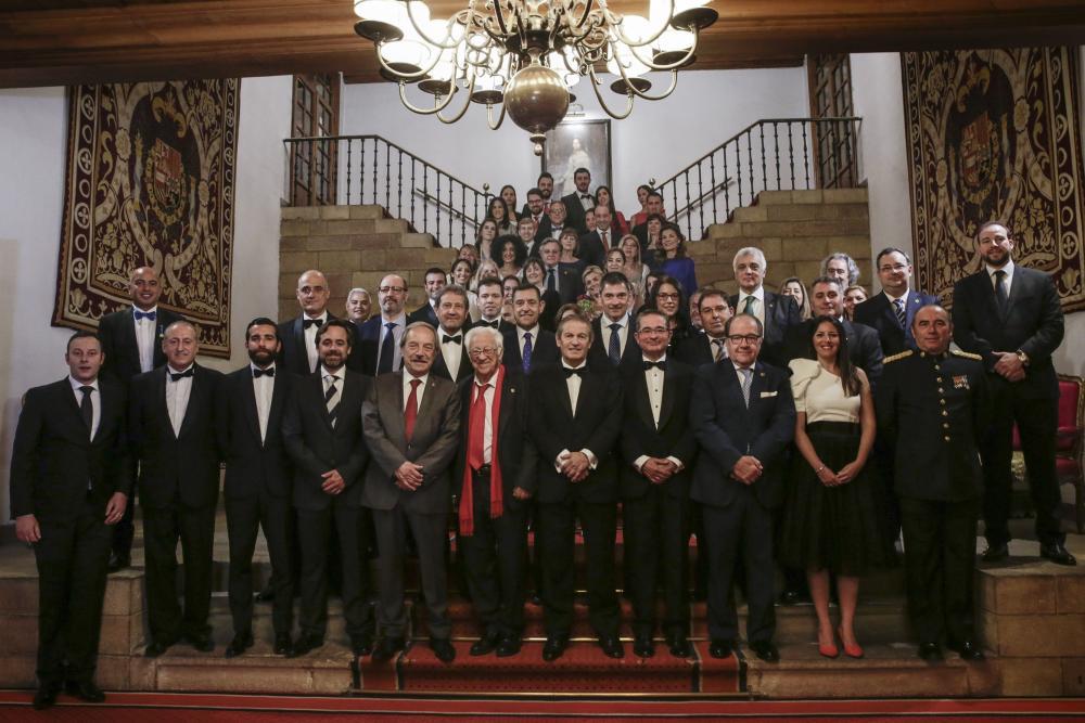 Premiados con la Medalla de Oro 2018